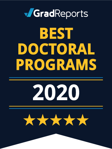 2021 Best Doctoral Programs Badge