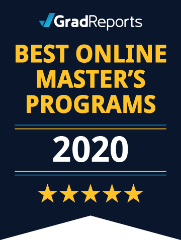 2020 Best Online Master's Programs Badge