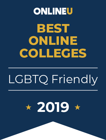 2019 Five-Star LGBTQ-Friendly Online Schools Badge