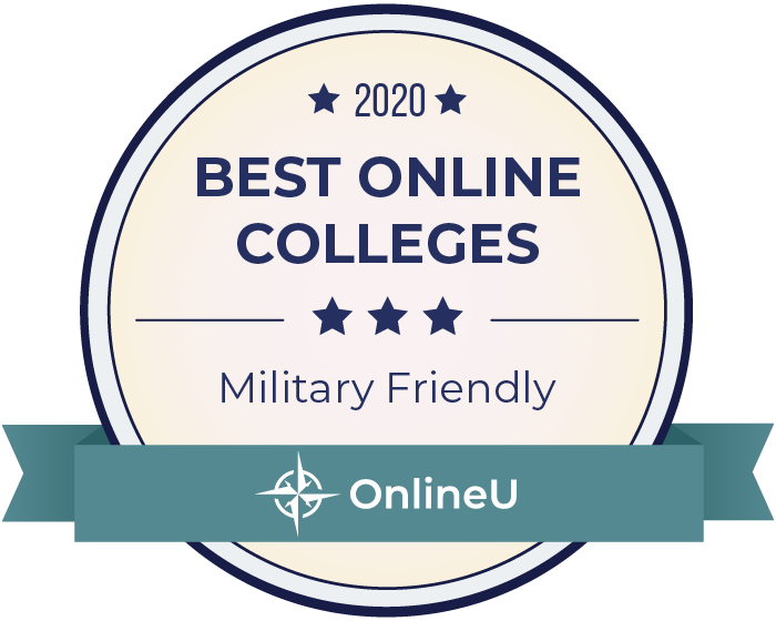 2020 Best Yellow Ribbon Online Colleges Badge