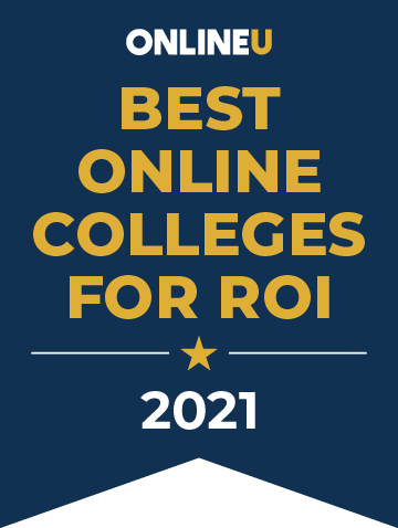 2021 Best Online Colleges for ROI Badge