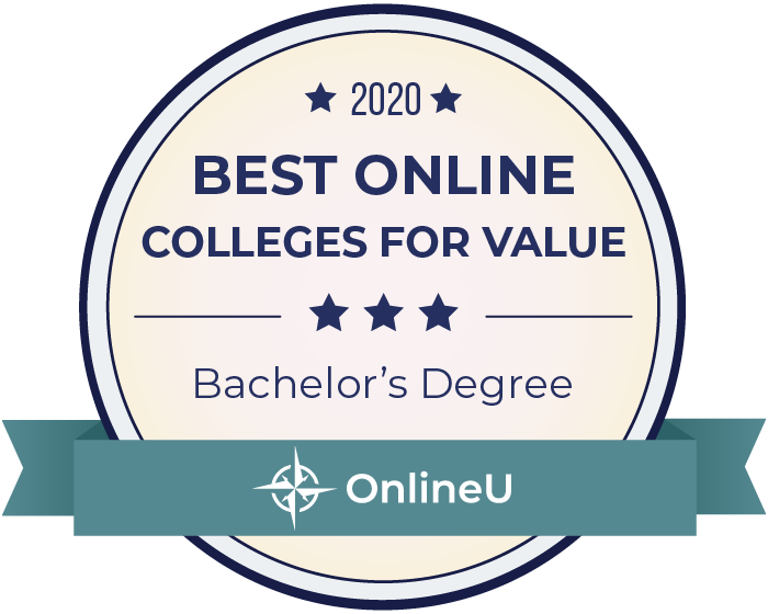2020 Best Bachelor's Degrees Badge
