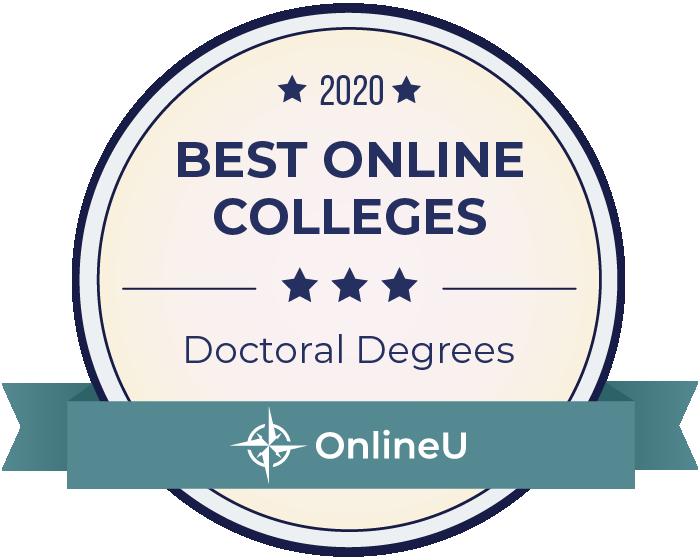 2020 Best Doctoral Degrees Badge