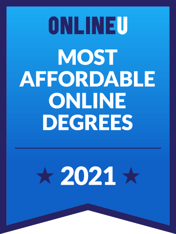 2021 Most Affordable Bachelor's Degrees Badge