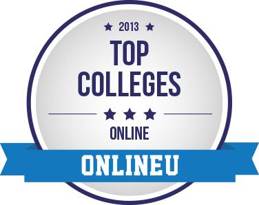 Online College Rankings Badge