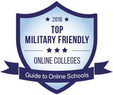 The 2016 Top Military Friendly badge