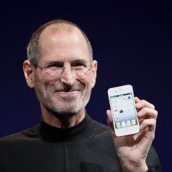 Steve Jobs Headshot, by Matthew Yohe