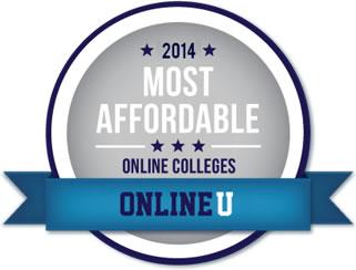 Most Affordable Online Colleges Badge
