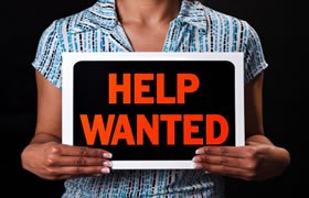 Help Wanted Sign - Careers in Demand