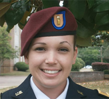 Military Scholarship Winner