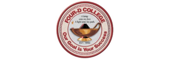 Four-D College logo