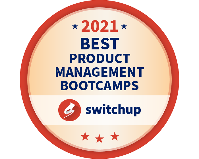 2021 Best Product Management Bootcamps Badge