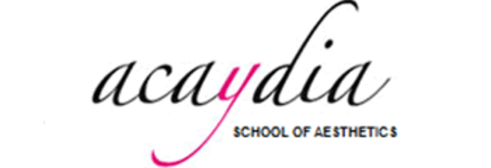 Acaydia School of Aesthetics logo