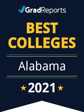 2021 Best Colleges in Alabama Badge