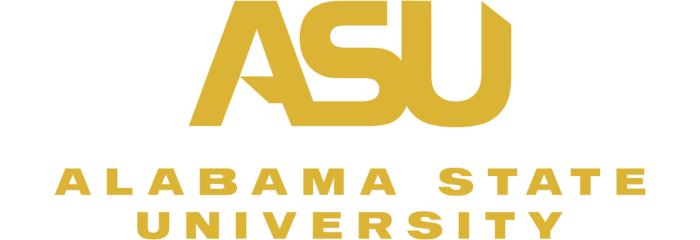 Alabama State University logo