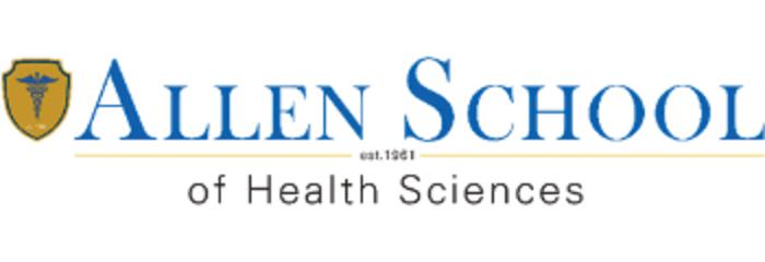 Allen School of Health Sciences Online logo