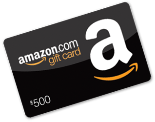 amazon giftcard for $500