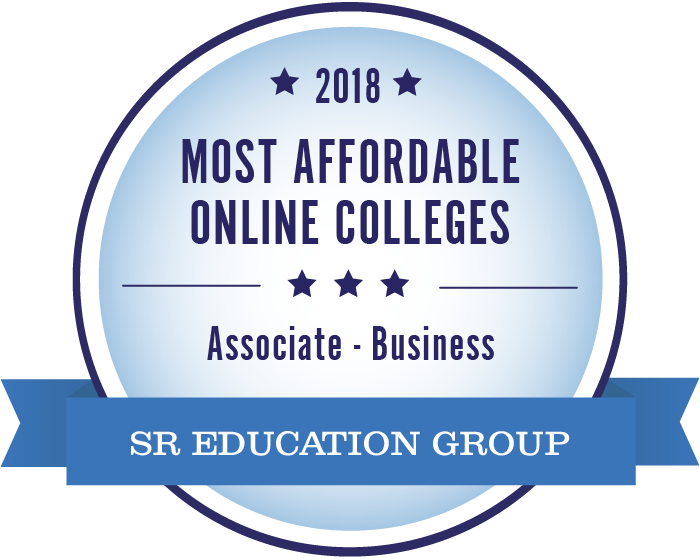 Business-Most Affordable Online Colleges-2018-Badge