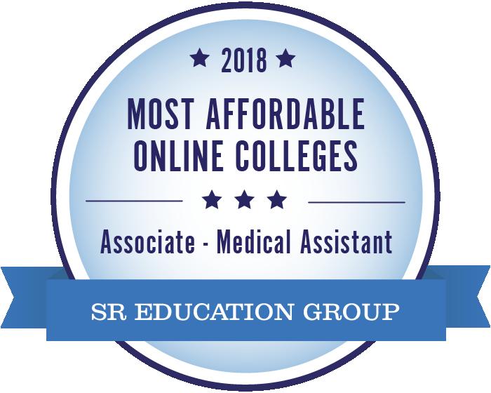 Medical Assistant-Most Affordable Online Colleges-2018-Badge