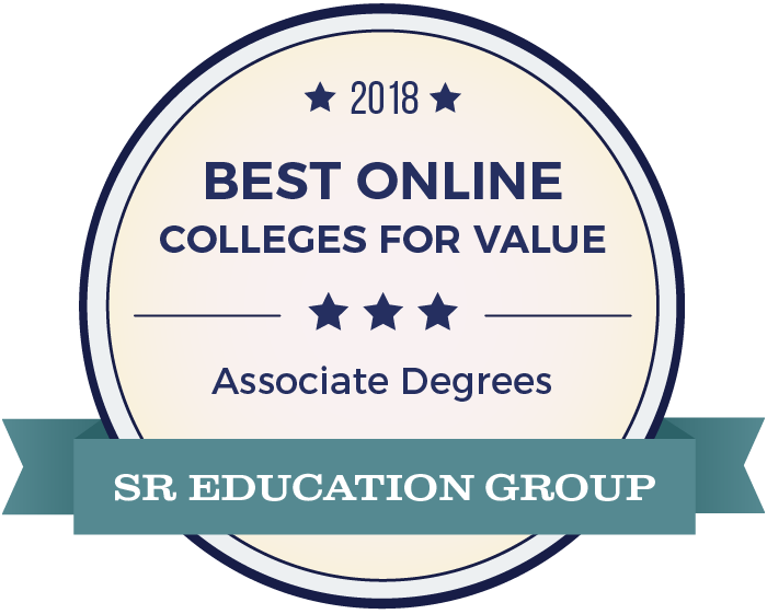Associate Degrees-Top Online Colleges-2018-Badge