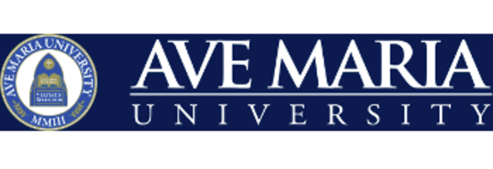 Ave Maria University logo