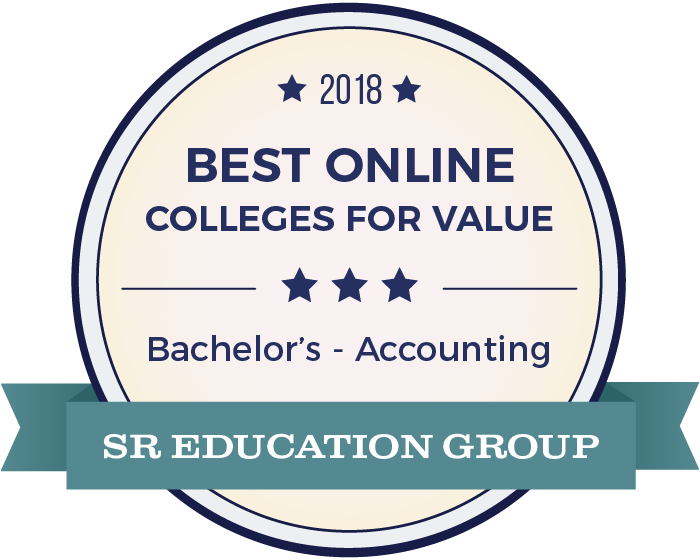 Accounting-Top Online Colleges-2018-Badge