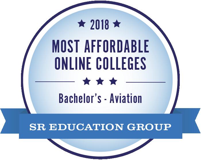 Aviation-Most Affordable Online Colleges-2018-Badge
