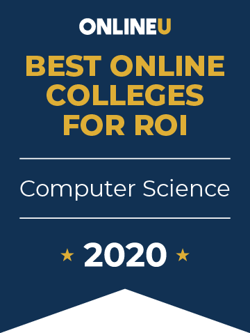 2020 Best Online Colleges Offering Bachelor's in Computer Science Badge