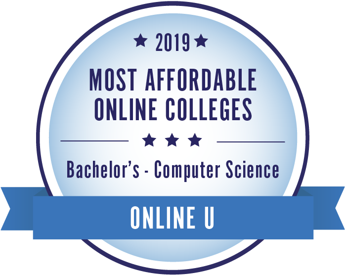 Computer Science-Top Online Colleges-2019-Badge