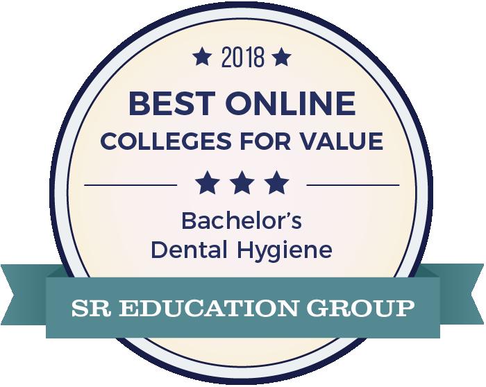 Dental Hygiene-Top Online Colleges-2018-Badge