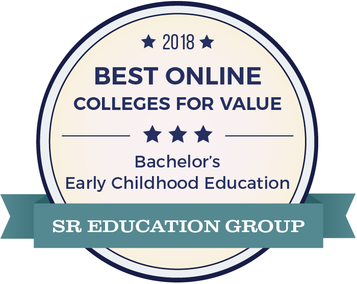 Early Childhood Education-Top Online Colleges-2018-Badge