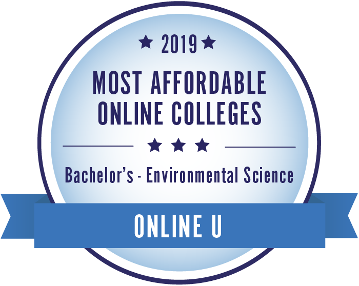 Environmental Science-Top Online Colleges-2019-Badge