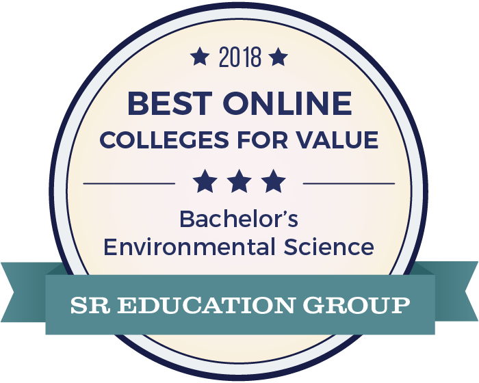 Environmental Science-Top Online Colleges-2018-Badge