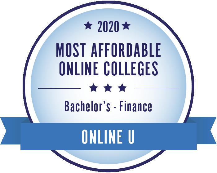 Finance-Most Affordable Online Colleges-2019-Badge