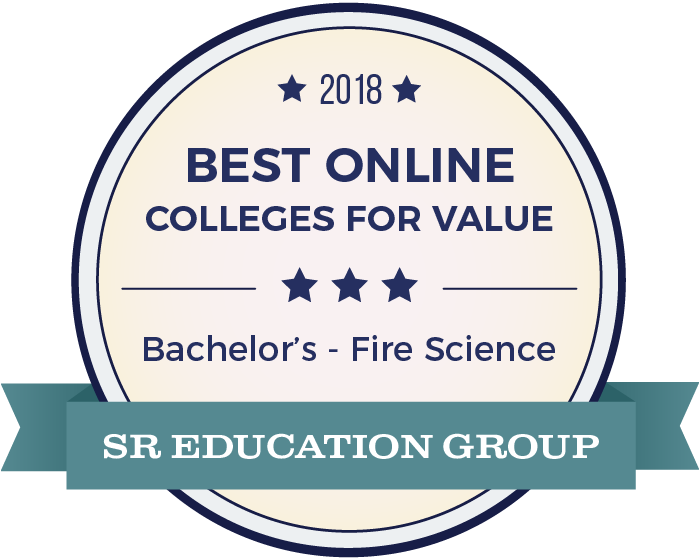Fire Science-Top Online Colleges-2018-Badge