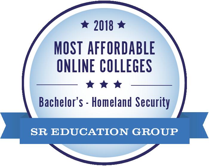Homeland Security-Most Affordable Online Colleges-2018-Badge