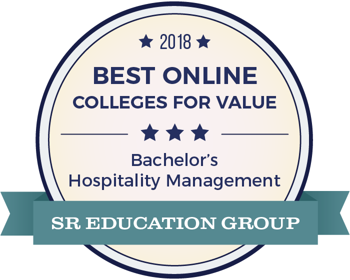 Hospitality Management-Top Online Colleges-2018-Badge