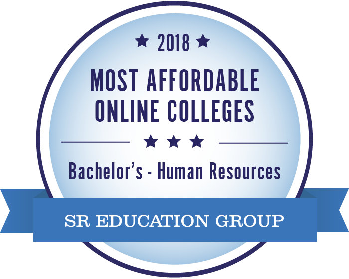 Human Resources-Most Affordable Online Colleges-2018-Badge
