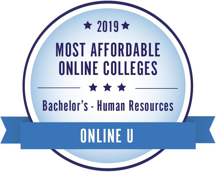 Human Resources-Top Online Colleges-2019-Badge