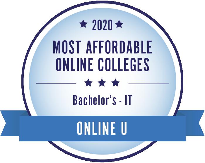 Information Technology-Most Affordable Online Colleges-2019-Badge