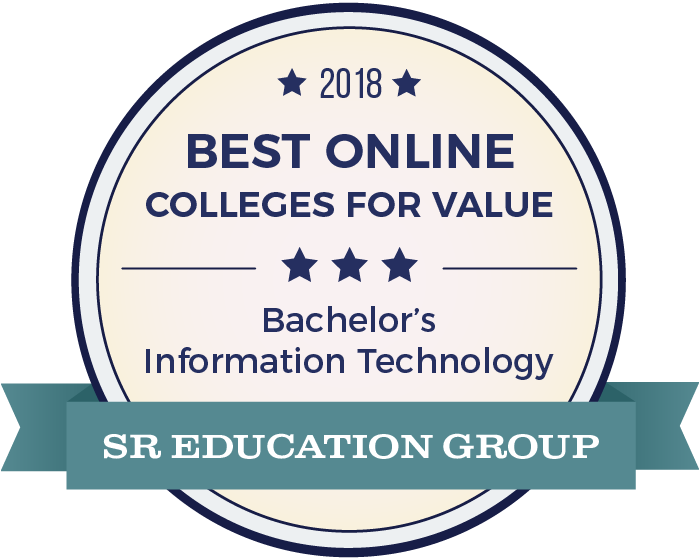 Information Technology-Top Online Colleges-2018-Badge