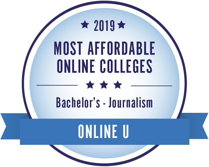 Journalism-Top Online Colleges-2019-Badge