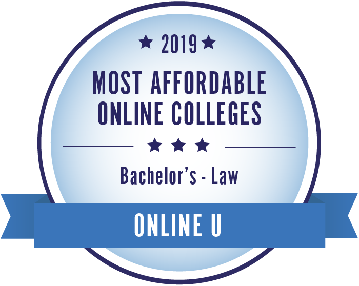 Law-Top Online Colleges-2019-Badge