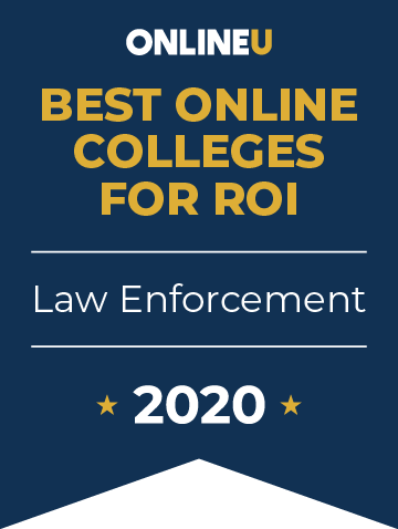 2020 Best Online Colleges Offering Bachelor's in Law Enforcement Badge