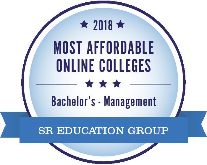 Management-Most Affordable Online Colleges-2018-Badge
