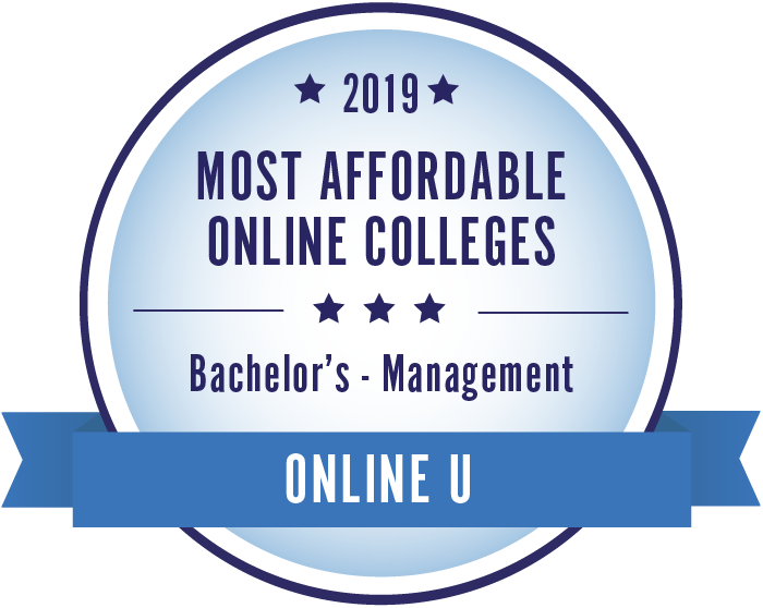 Management-Top Online Colleges-2019-Badge