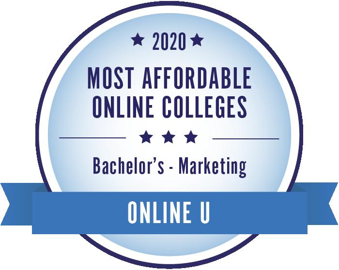 Marketing-Most Affordable Online Colleges-2019-Badge
