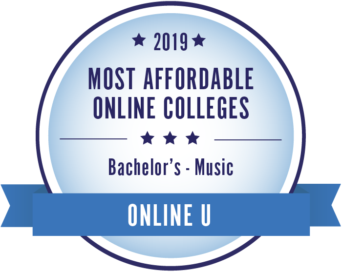 Music-Top Online Colleges-2019-Badge