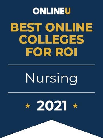 2021 Best Online Colleges Offering Bachelors in Nursing Badge