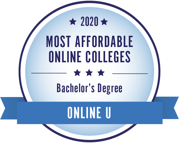 2020 Most Affordable Bachelors Degrees Badge